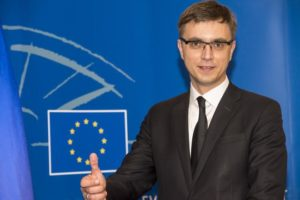 Володимир Омелян, заступник міністра інфраструктури України