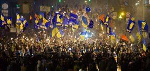 Марш з нагоди народження Степана Бандери. Київ
