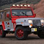 Jeep Wrangler Staff Vehicle: легендарний автомобіль з «Парку Юрського періоду»