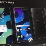 Samsung Galaxy Note 8 засвітився на постерах