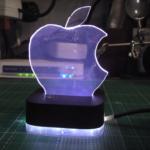 Як зробити світильник з логотипом Apple
