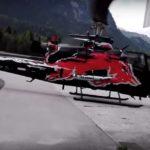 Невдала парковка вертольота: гвинт трощить будинок
