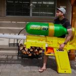 Найбільший водяний пістолет має довжину 2,13 м
