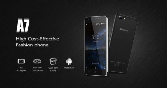 Бюджетний смартфон Blackview A7 з двома камерами оцінили в $50
