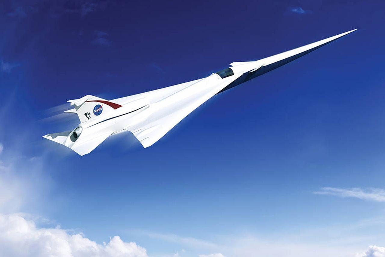 НАСА створює тихий надзвуковий лайнер з «м'яким» звуковим ударом