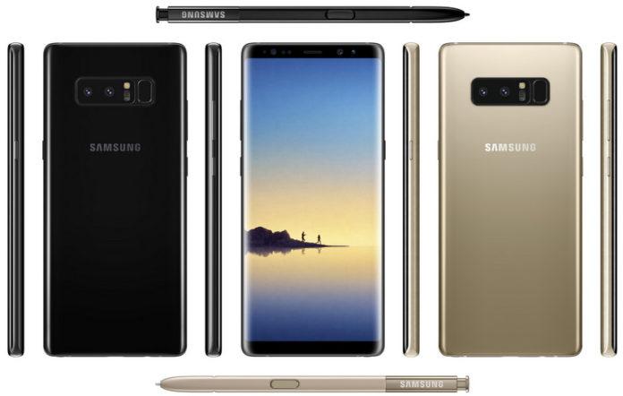 Прес-фото Samsung Galaxy Note 8: менше рамок, більше екрану