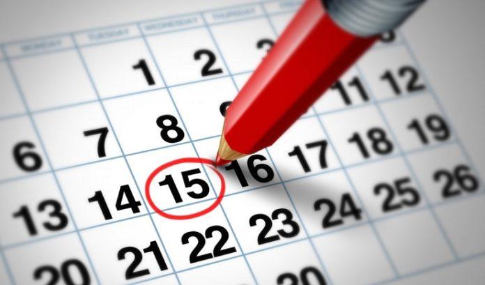 Як прибрати показ подій у календарі Windows 10