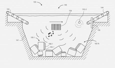 Amazon патентує підводний склад з самеспливаючими контейнерами для товарів