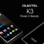 OUKITEL K3: батарея на 6000 мАч, 4 ГБ ОЗУ і дві подвійні камери