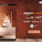Micromax представила смартфон Canvas Infinity з 5,7-дюймовим 18:9 дисплеєм