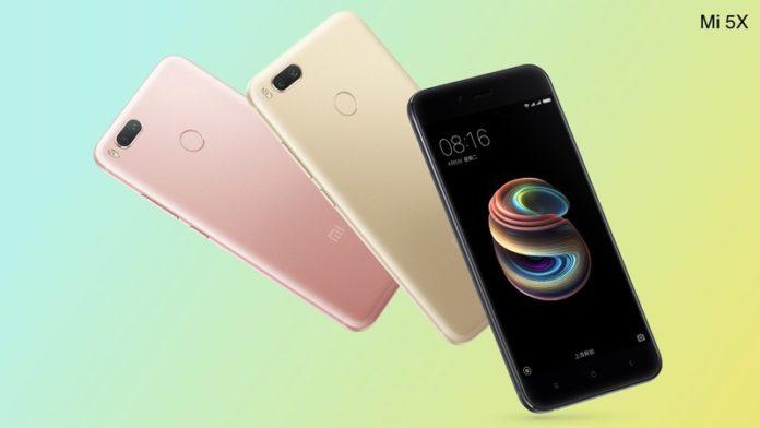 Смартфон Xiaomi Mi 5X надійшов у продаж в Китаї