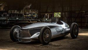 Прототип Infiniti об'єднує міць електрокара і дизайн гоночного боліда 1940-х