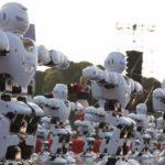 Танцюючі роботи встановили новий світовий рекорд (відео)