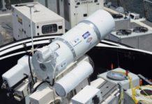 Бойовий лазер від Lockheed Martin в дії (відео)