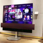 Телевізор від LG і Bang & Olufsen безшумно пересувається по будинку (фото + 2 відео)