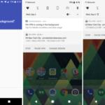 Як прибрати подразнюючі оповіщення про фонові додатки до 8.0 Android