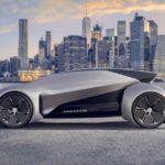Jaguar Future-Type — автономний електрокар зі знімним розумним кермом