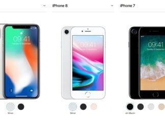 Порівняння iPhone 7 і iPhone 8 і відмінності iPhone X