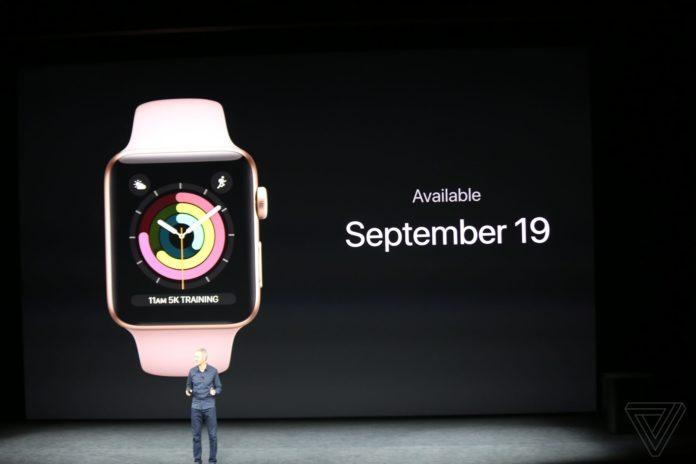 watchOS 4 вийде 19 вересня