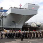 Другий найбільший суперавіаносец Великобританії пройшов морське хрещення