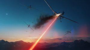 Американський бойовий лазер знищив п'ять безпілотників