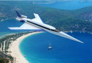 Прототип майбутнього надзвукового лайнера Spike S-512 здійснив перший політ