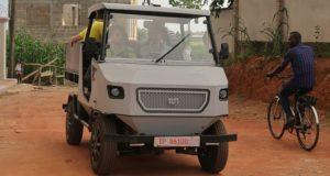 Представлений електромобіль для сільських доріг Африки