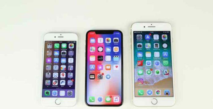 iPhone X, iPhone 8 і iPhone 8 Plus б'ють рекорди популярності