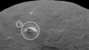 На Церері виявили щось, що схоже на гігантську піраміду