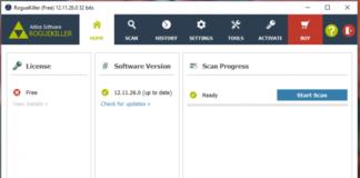 RogueKiller Anti-Malware — ретельний пошук загроз і небажаних програм