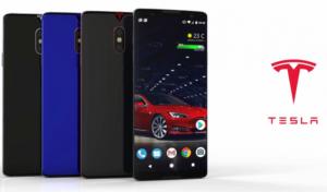 Смартфон Tesla показали на фото і відео