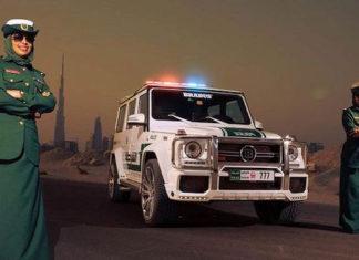Автомобілі поліції Дубая: сьогодення та майбутнє