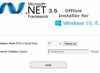 Як інтегрувати пакет NET Framework 3.5 встановлену Windows 10 DISM