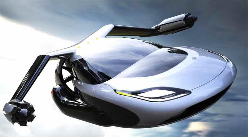Проект дизайну літаючого автомобіля