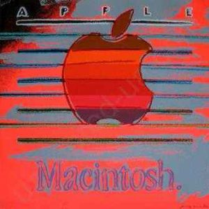 Логотип Macintosh роботи Енді Уорхола виставлений на аукціоні
