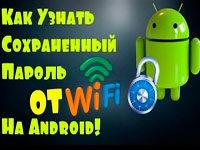 Як дізнатися пароль від Wi-Fi на Android