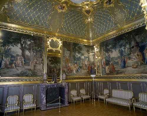 Золотий кабінет в будинку Ханенків фото