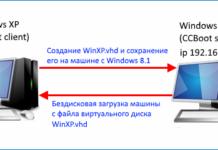 Бездискове завантаження Windows XP, 7, 8.1, 10 (на прикладі Windows XP), використовуючи програму CCBoot 2017