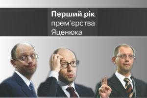 «Свобода» взялася за Яценюка – до річниці роботи уряду підготувала вбивчу інфографіку