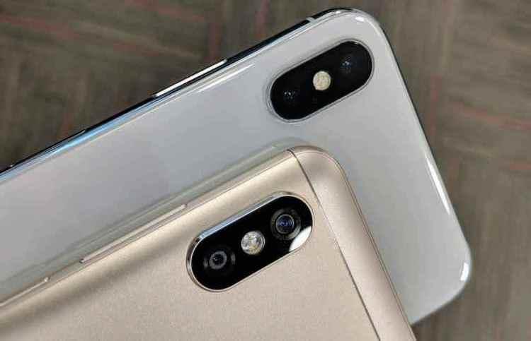 iPhone X і Redmi Note 5 Pro