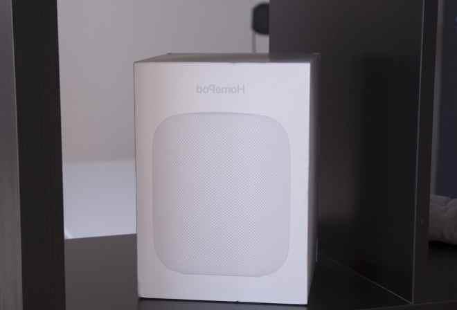 Висота HomePod ледь більше iPhone X