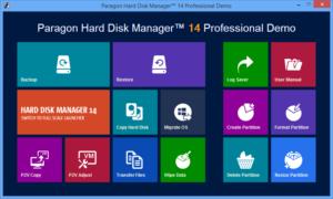 Що робити, якщо не виходить відновитися з образу системи, створеним вбудованим засобом архівації Windows 10. Використовуємо завантажувальну флешку Paragon Hard Disk Manager Professional 15
