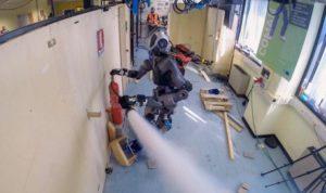 Новий європейський робот-пожежний успішно пройшов перші випробування