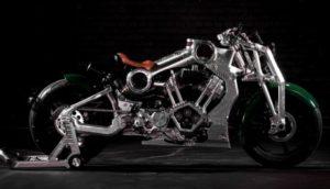 Curtiss Warhawk: мотоцикл, створений під натхненням від винищувача часів Другої світової