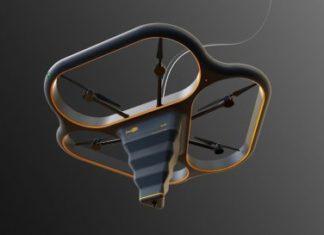 Китайська компанія DediBot підняла в повітря літаючий 3D-принтер