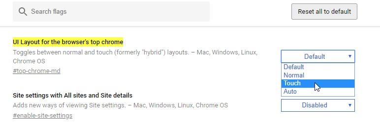 Як оптимізувати інтерфейс Chrome під планшет