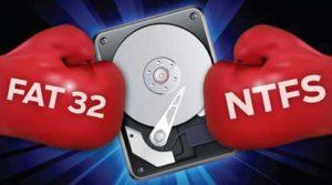 Як поміняти на FAT32, NTFS без втрати даних