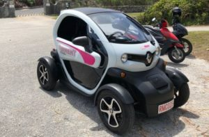 Renault Twizy – кращий електромобіль Бермудських островів