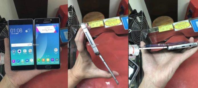 Показаний прототип складаного смартфона Samsung