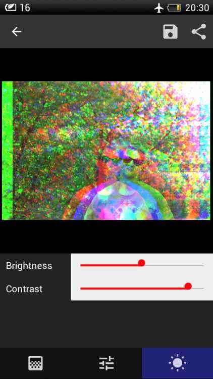 Як стильно обробити фото в кілька торкань? Відповідь - Onetap Glitch